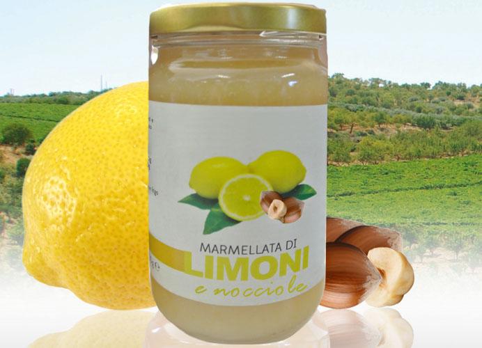 Marmellata di Limoni e Nocciole