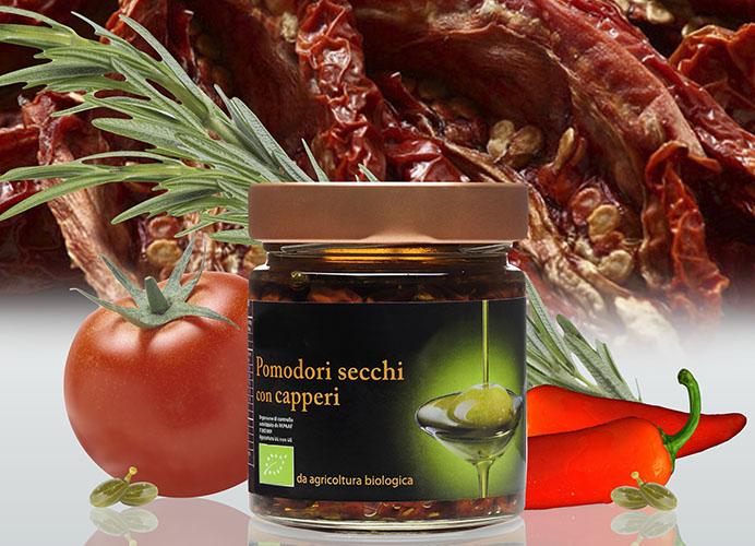 Bio Pomodoro Secco con Capperi