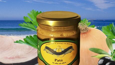 Patè di Pesce Spada in Olio di Oliva