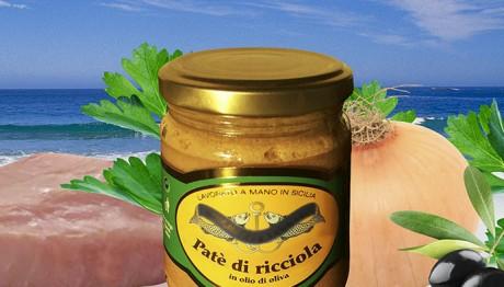 Patè di Ricciola in Olio di Oliva