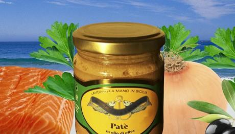 Patè di Salmone in Olio di Oliva