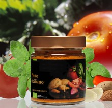 Pesto Siciliano Biologico