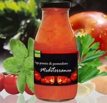 Sugo Biologico di Pomodoro Mediterraneo