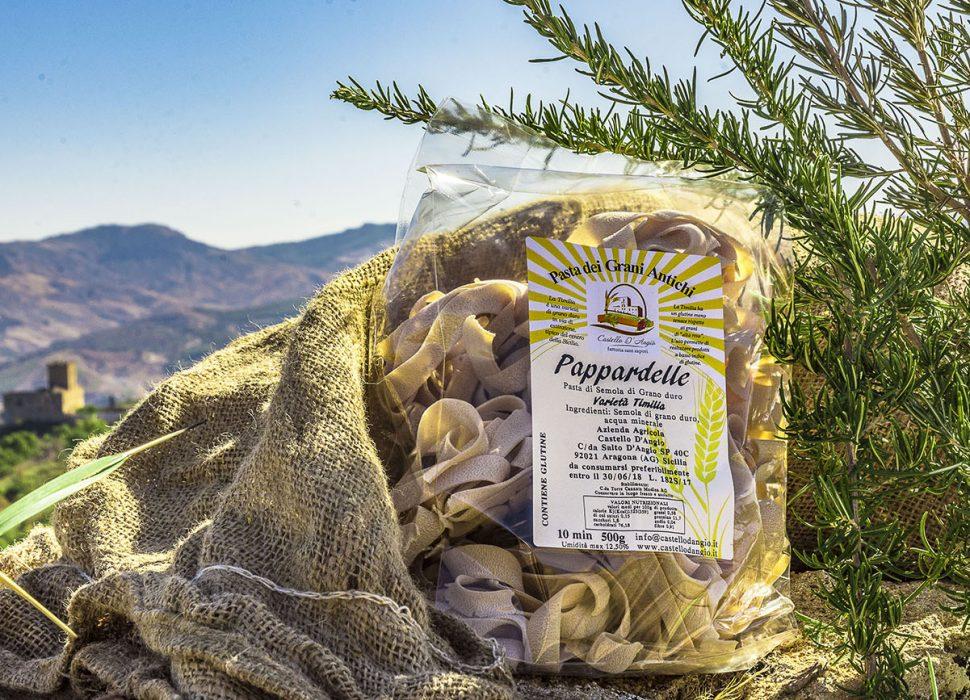 Pappardelle Pasta Grano Duro Sicilia