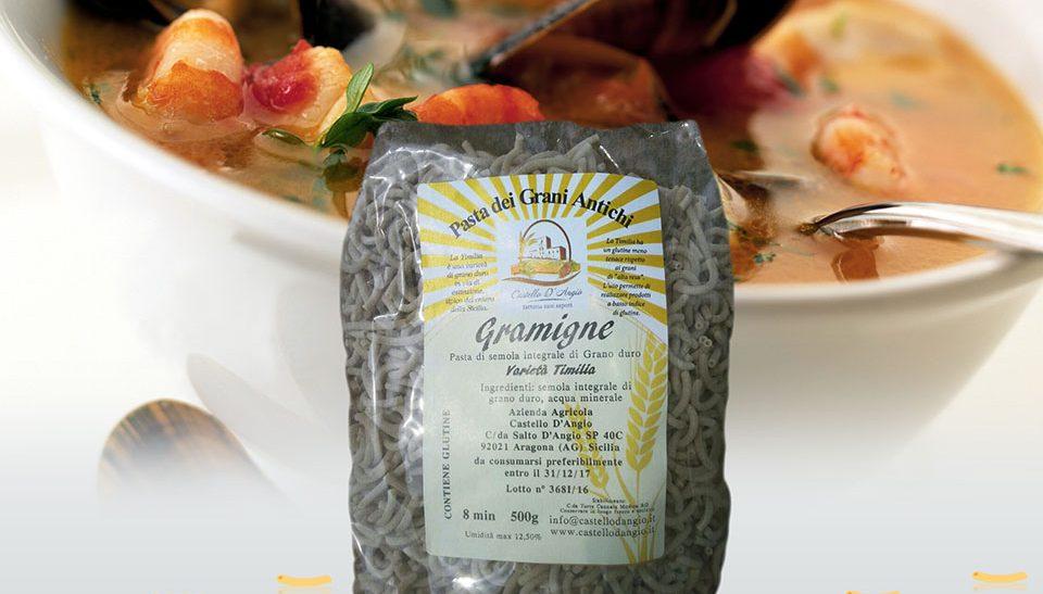 Pasta biologica integrale Gramigne